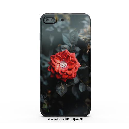 قاب موبایل گل رز قرمز