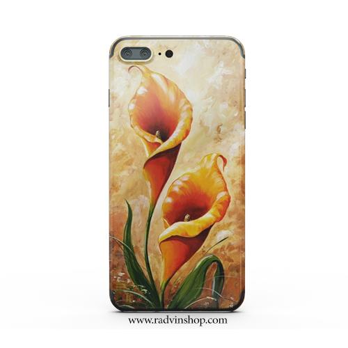 قاب موبایل طرح گل پامچال