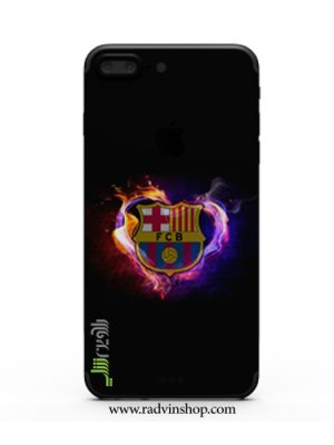قاب موبایل لوگو آتشین بارسلونا مدل87