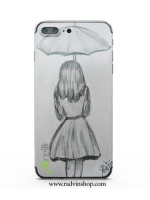 قاب موبایل دخترانه چتری کد 48